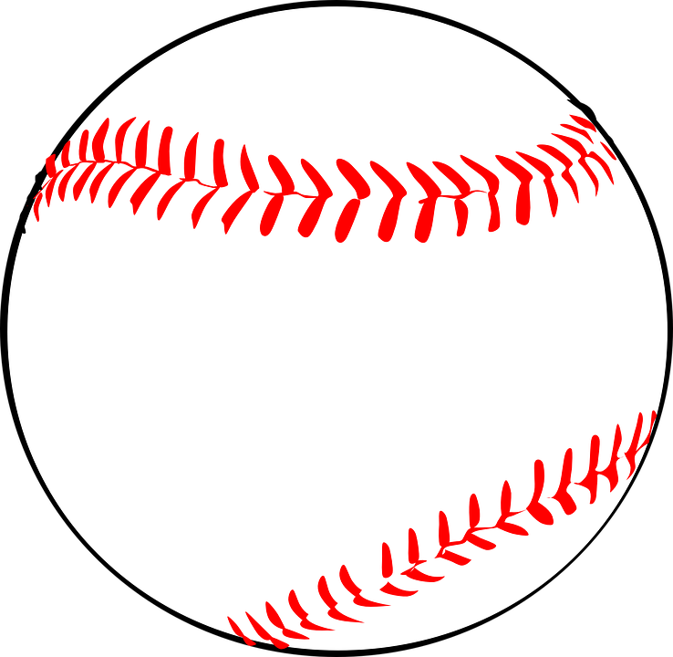 baseball sport red vector graphic pixabay #18857