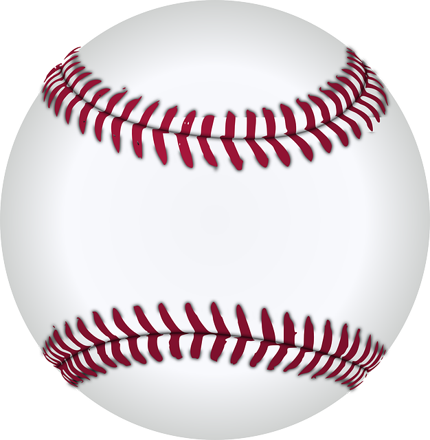 vector graphic baseball white red designs #18791