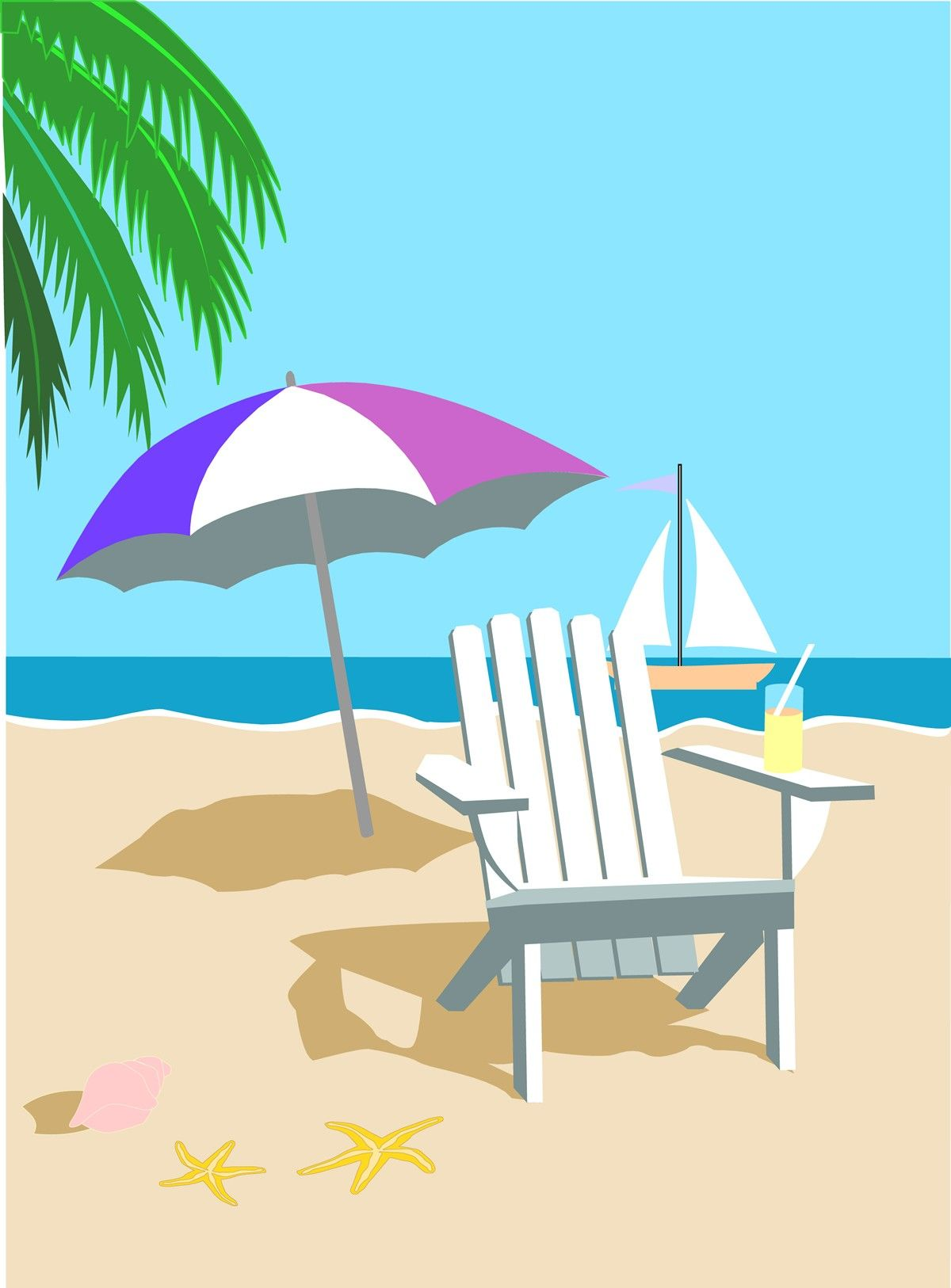 beach clipart, beach background clipart wallpaper pictures need #31658