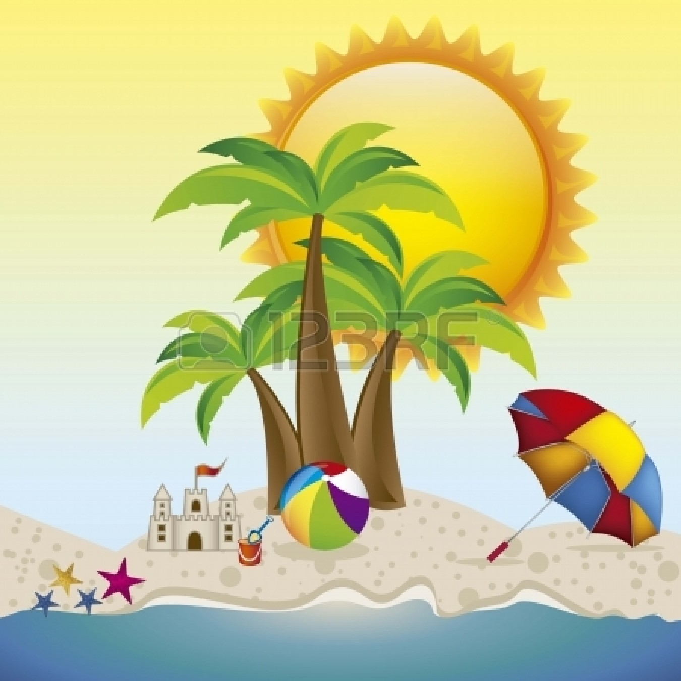 beach clipart, beach vacation clip art amazing wallpapers #31669