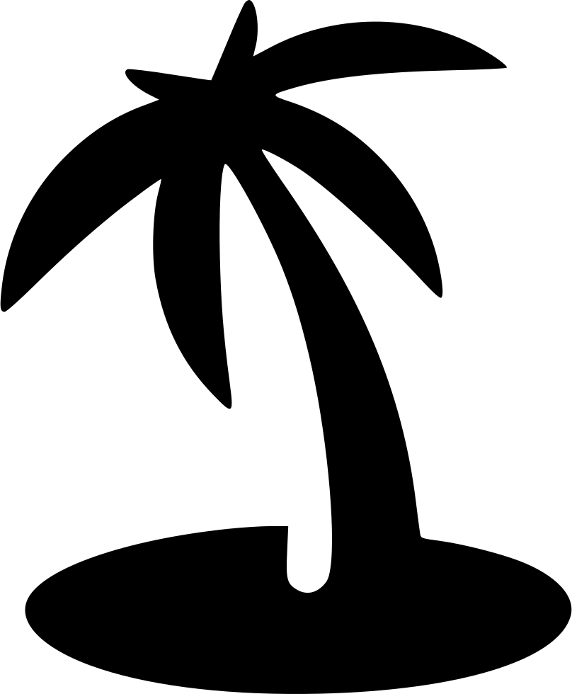 beach palm island svg png icon download onlinewebfontsm #29100