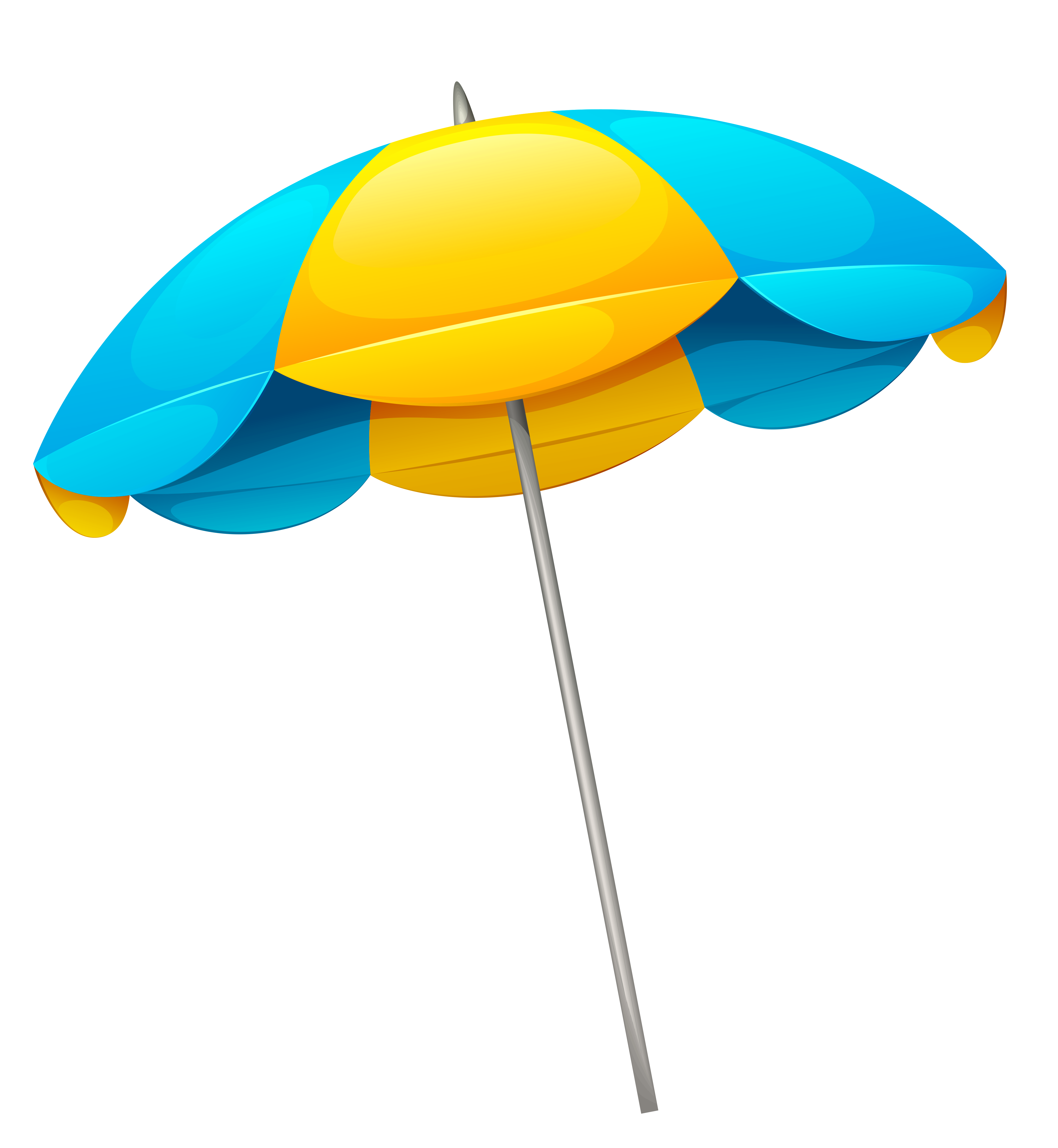 yellow blue beach umbrella png clipart gallery yopriceville high quality images and #29111