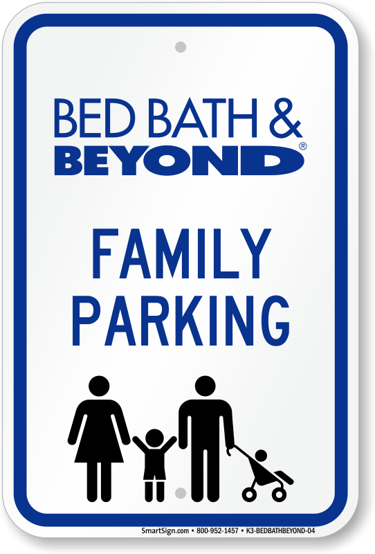 bed bath beyond parking signs png logo 5800