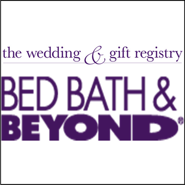 the wedding and gift registery, bed bath and beyond png logo