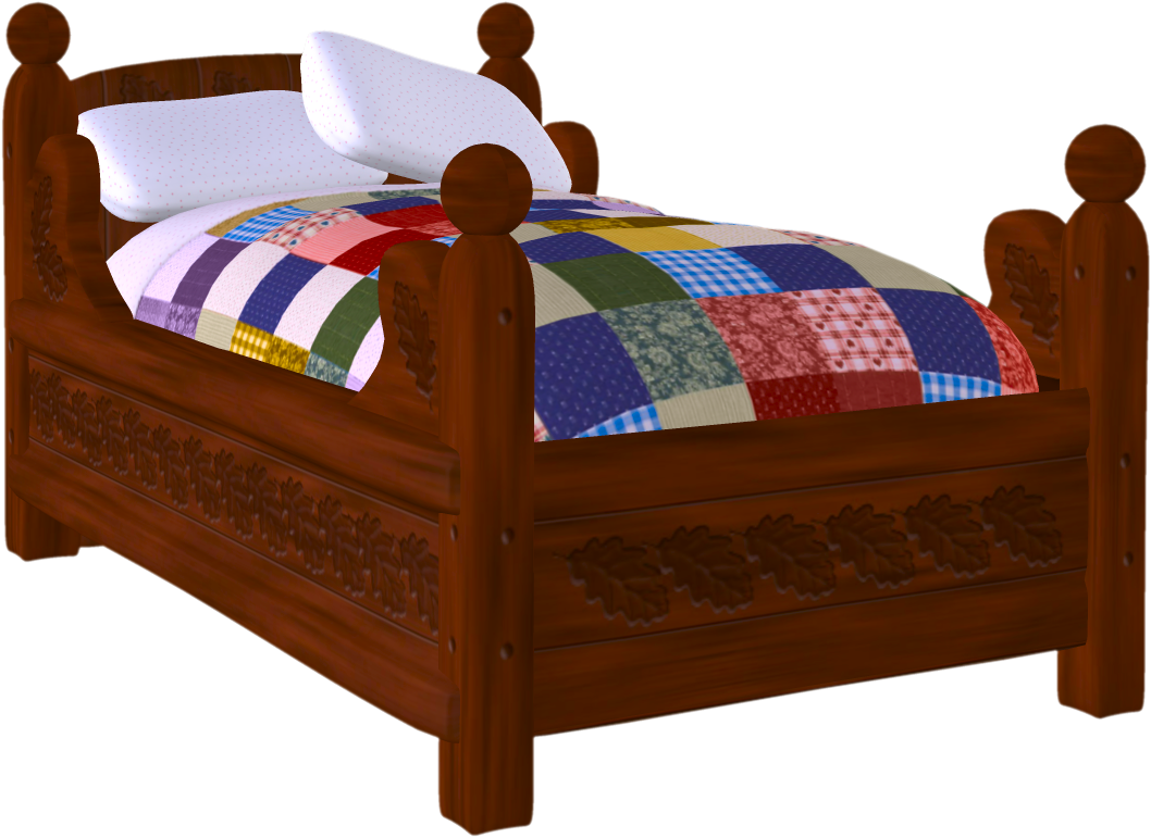 Bed Png Pictures Free Download Aesthetic Bed Clipart