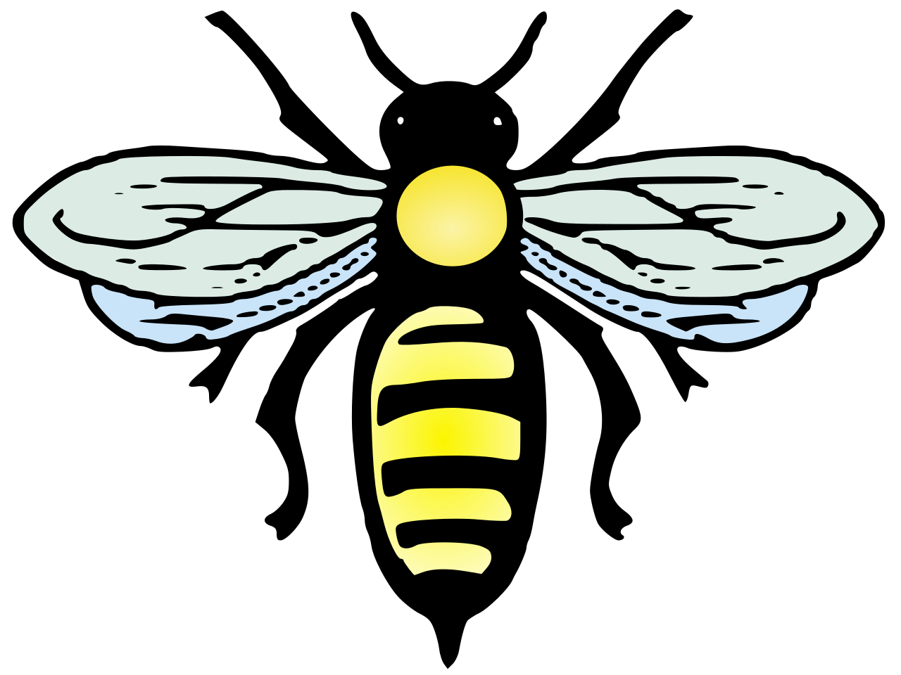 file abeille bee svg wikimedia commons #18961