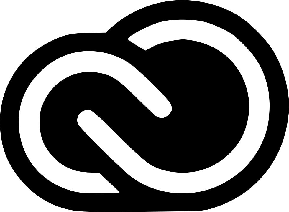 black adobe creative cloud logo png #1896