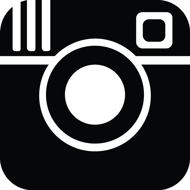 black instagram logo icon png #2436