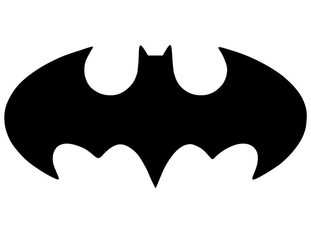 black logo batman png #2032