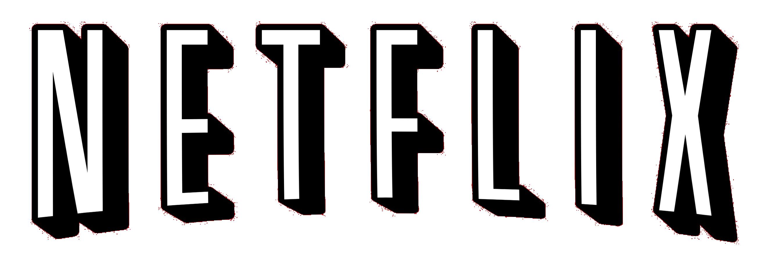 black netflix logo png #2565