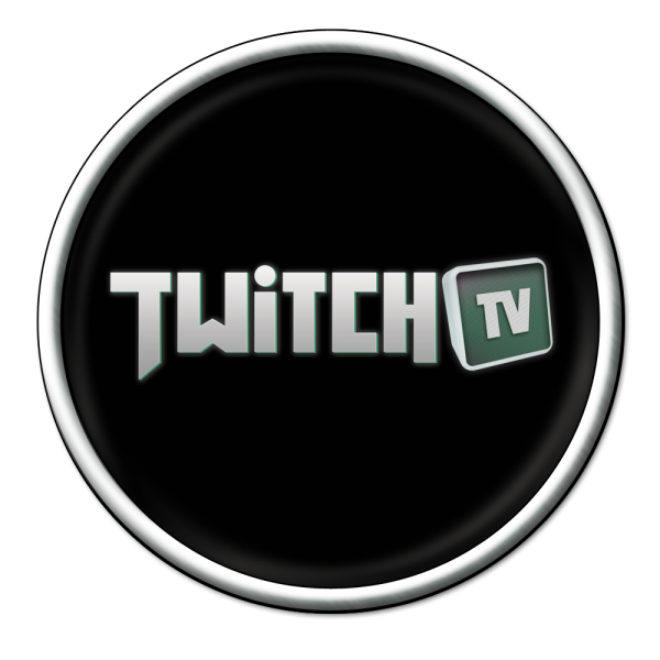 black twitch logo png #1868