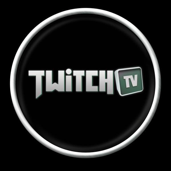 black twitch logo png #1868