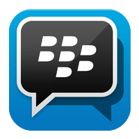 blackberry messenger logo square png #2686