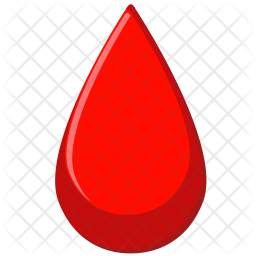 blood drop icon flat style available svg png eps #37712
