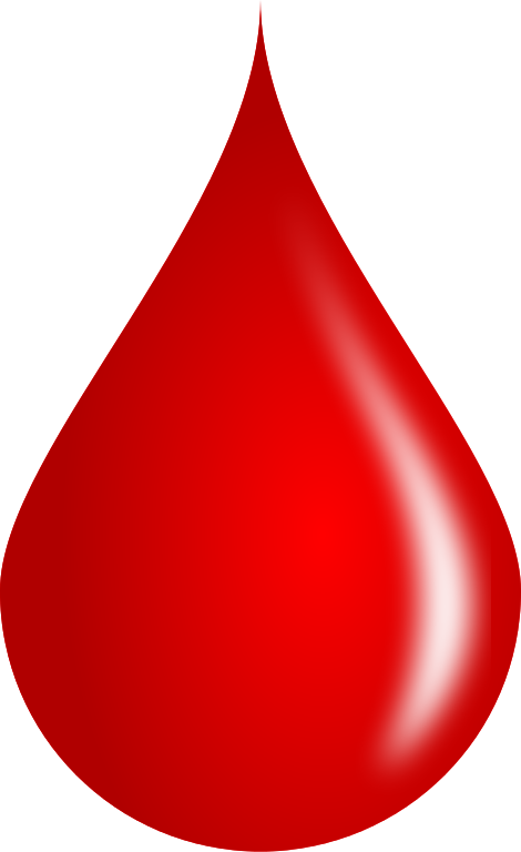 red blood drop #8581