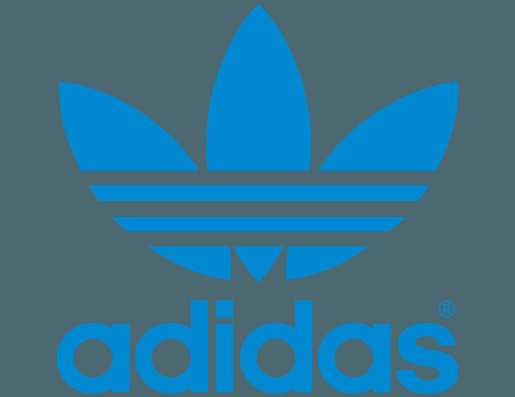 blue adidas originals logo png #2380