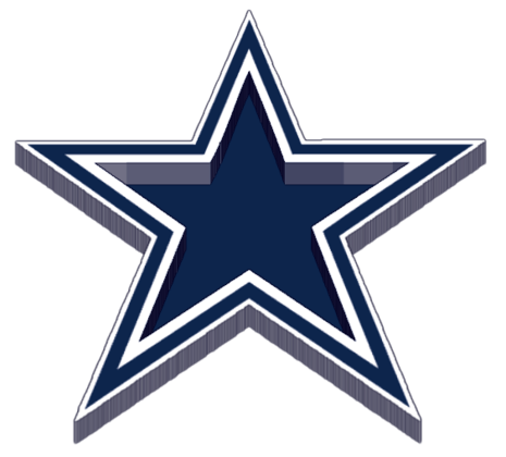blue dallas cowboys logo #1072