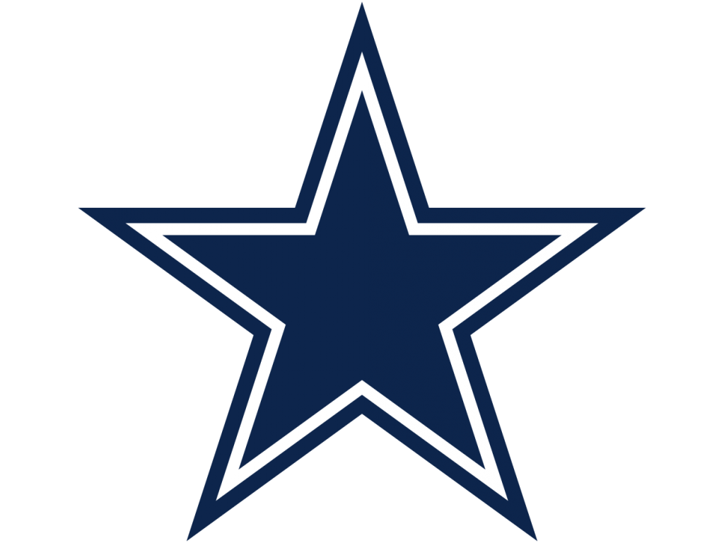 blue star, dallas cowboys logo #1087