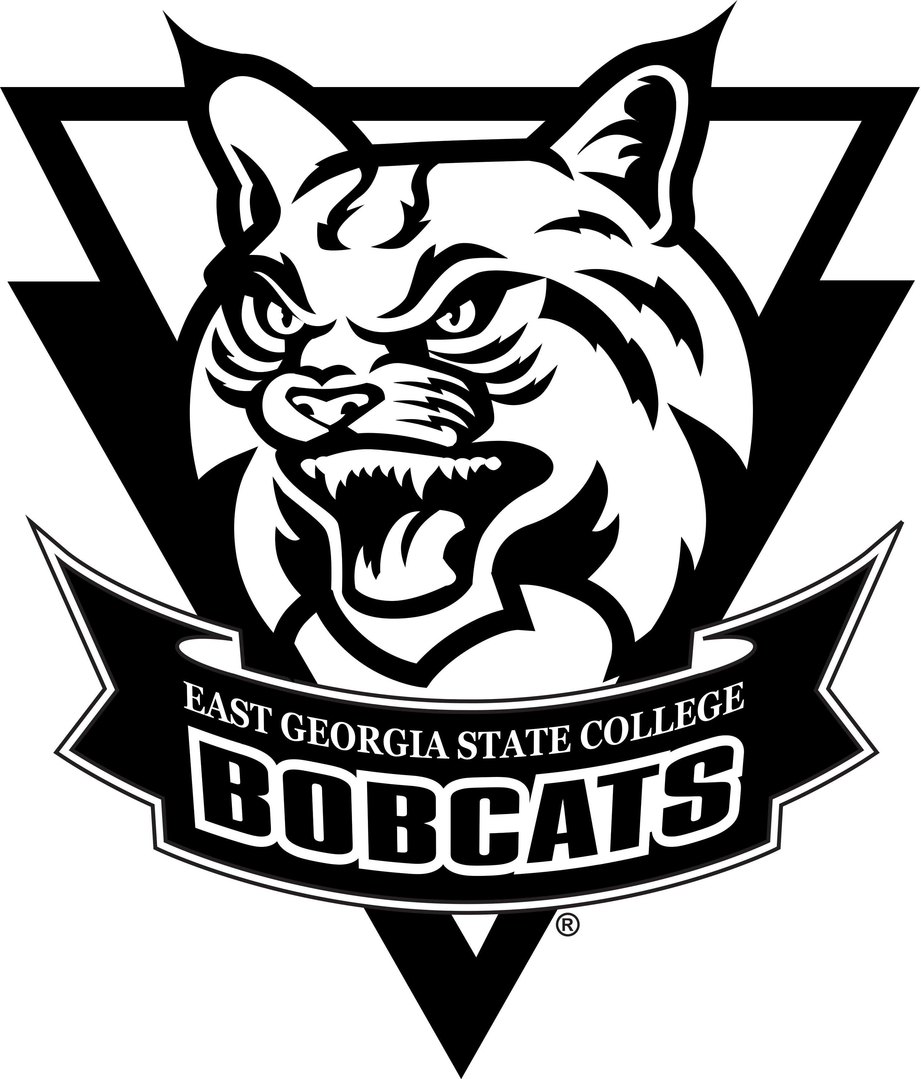 east georgia state college bobcat png logo #6379