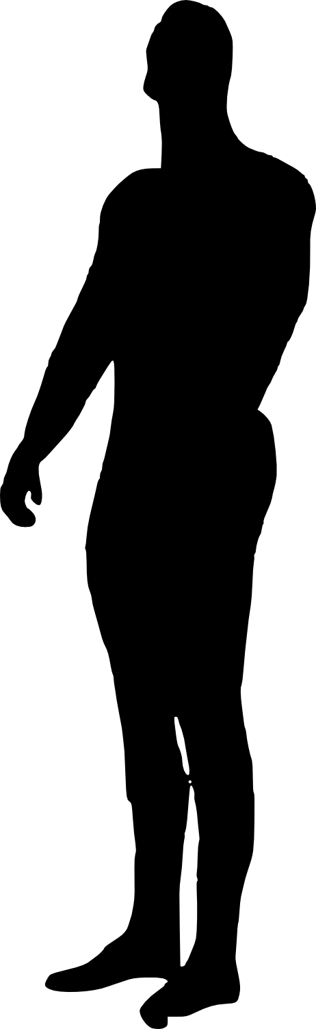 bodybuilder, muscle man body builder silhouette png transparent onlygfxm #29071