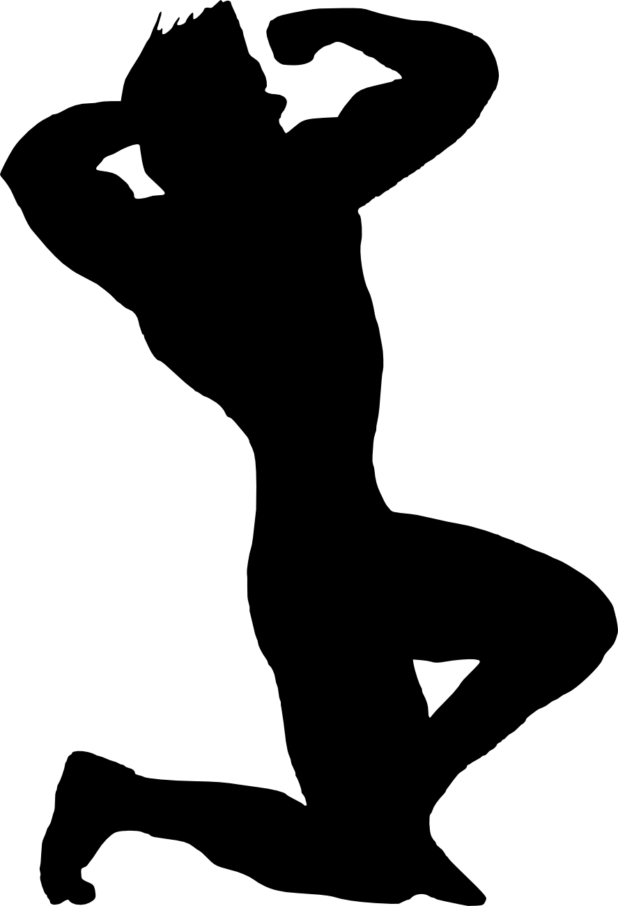 bodybuilder, muscle man body builder silhouette png transparent onlygfxm #29122