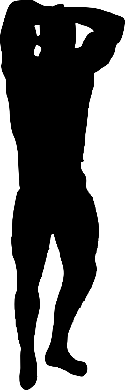 bodybuilder, muscle man body builder silhouette png transparent onlygfxm #29085