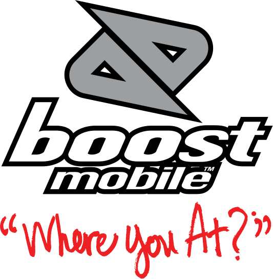 boost mobile mere you at png logo #5546