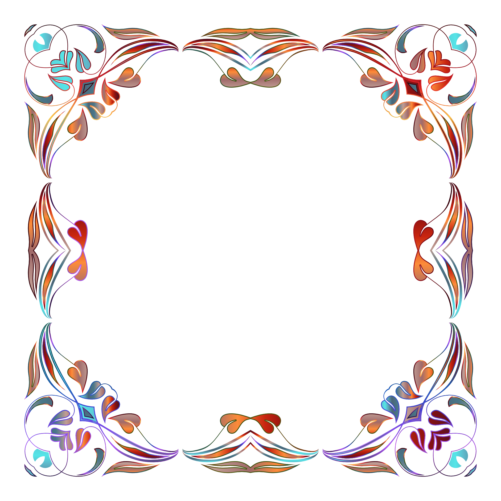 floral pattern border picture #8203