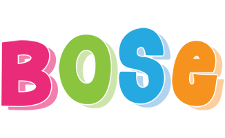 bose colorful brand png logo #6679