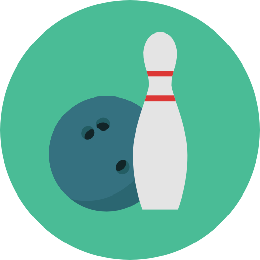 bowling sports icons #8999