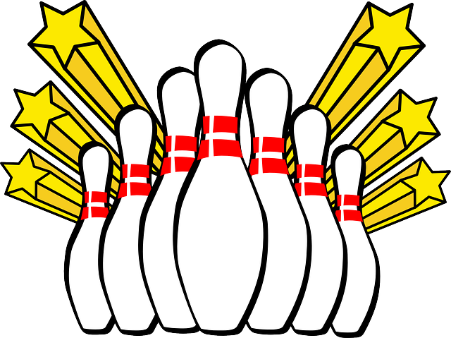 bowling strike pin graphic 9008
