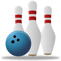 sport bowling icon pretty office icons #8988