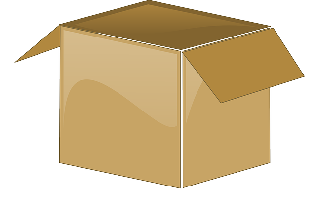 cardboard box open package vector graphic pixabay #19744