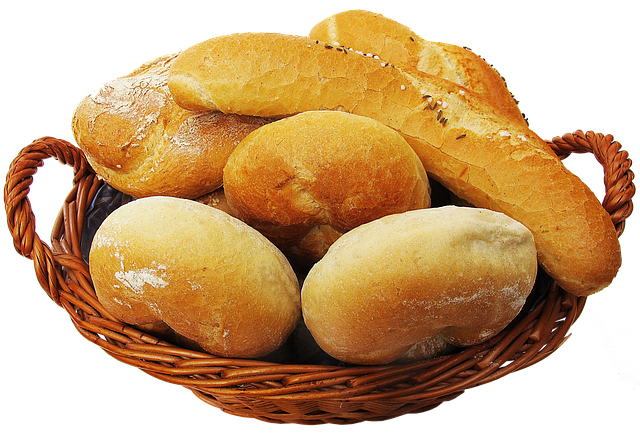 basket bread roll photo pixabay #18177