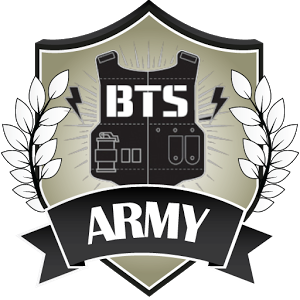 bts logo, forever heart bts army and logo #32035