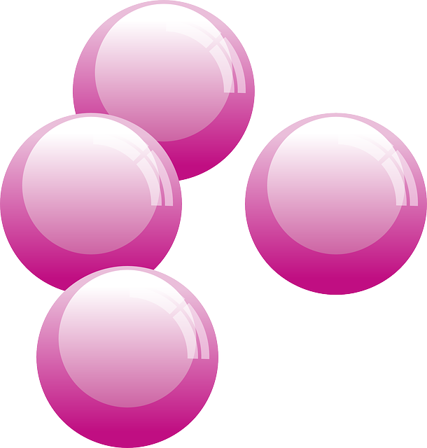 purple pink bubbles vector graphic pixabay #22516
