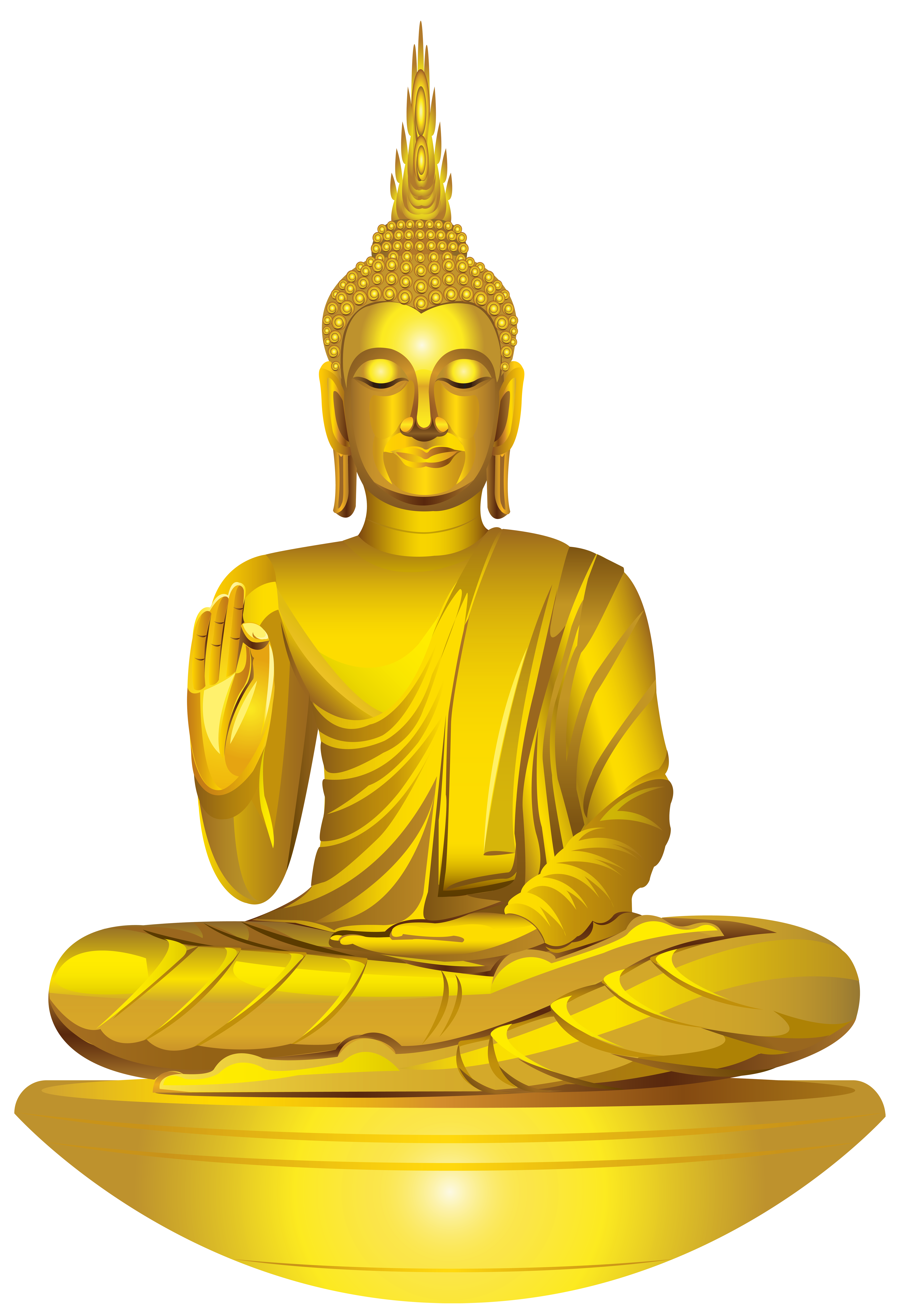 buddha clipart buddha statue pencil and color buddha #21120