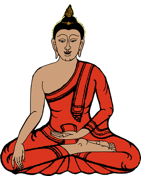 vector graphic buddha buddhist famous figure #21091