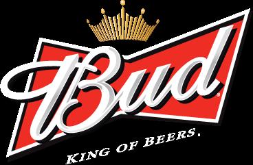 Budweiser, Bud, king of beers logo png #1517