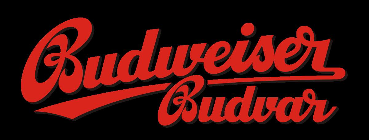 Budweiser Budvar Brewery logo text png #1514
