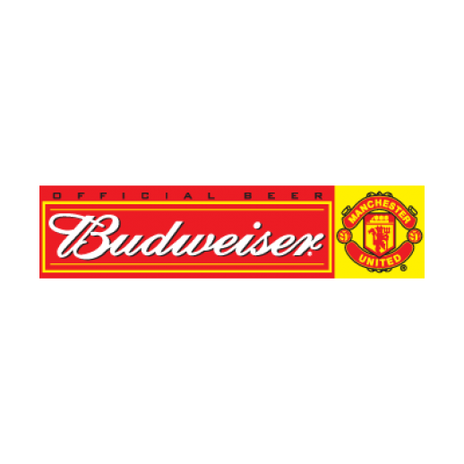 Budweiser manchester united logo png