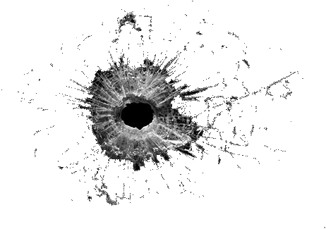 bullet hole, bullet holes png available different size #20964