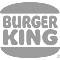 burger king grey desing png logo #3282