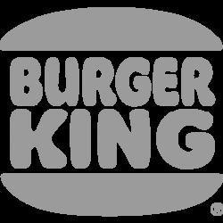 burger king grey desing png logo