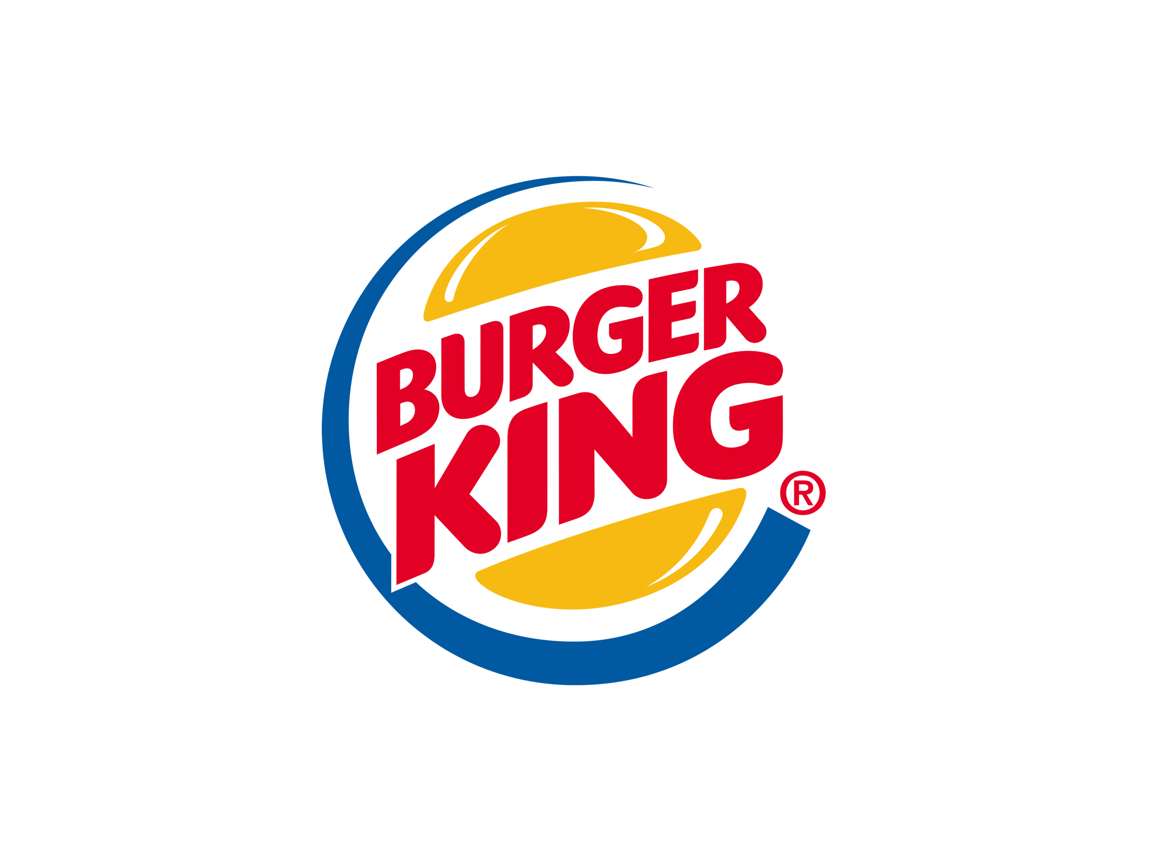 burger king png logo