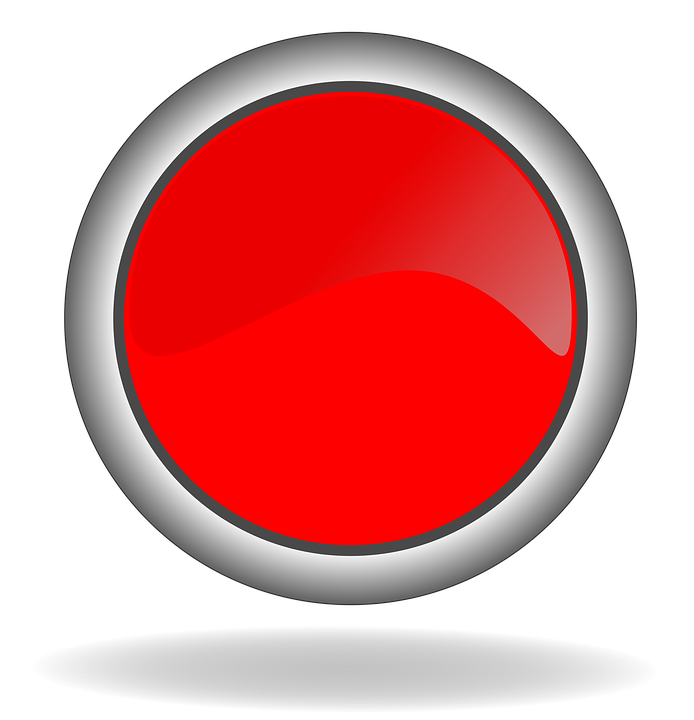 red button icon image pixabay #15363