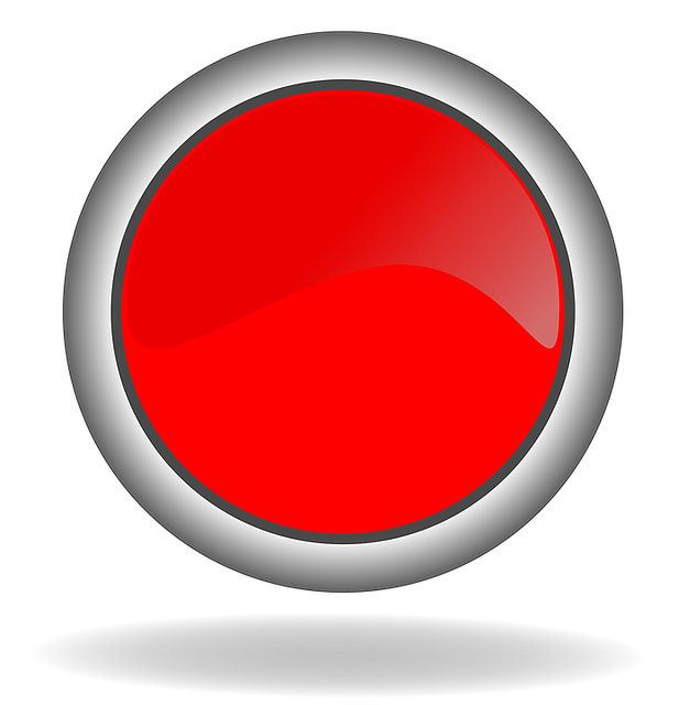 red button icon image pixabay #15376