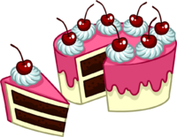 image puffle care catalog icons food peice cake #9771