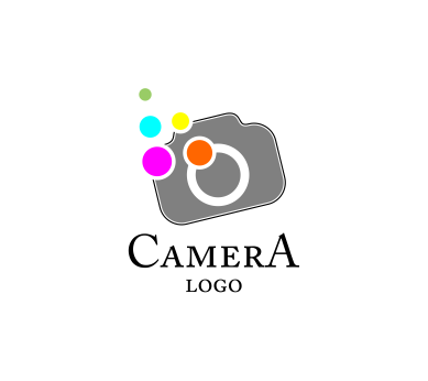 camera colour fashion vector logo #7136