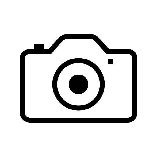 camera outline icon #7141